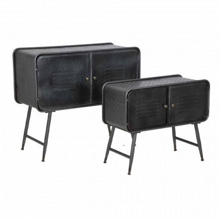 Çift i bordeve të stilit industrial për dizajnin e cilësisë së mirë të dhomës së ndenjes në hekur - Cuna