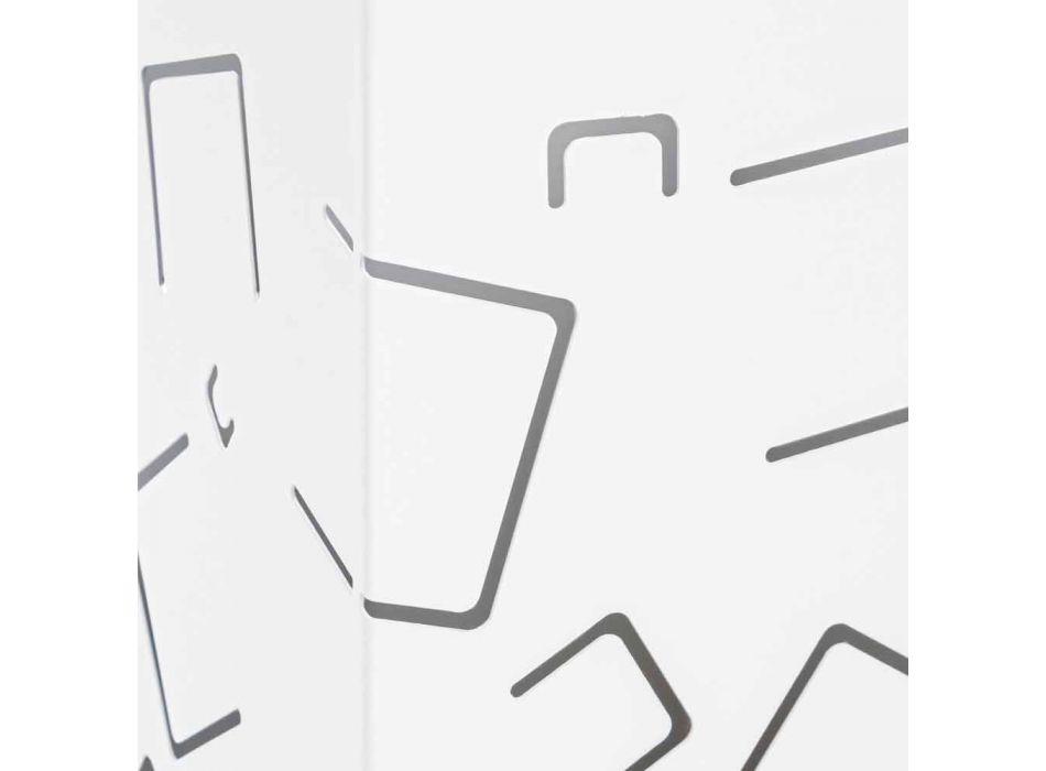 Çift qëndrimi ombrellë në çelikun modern të pikturuar për lëvizje shtëpiake - Formio