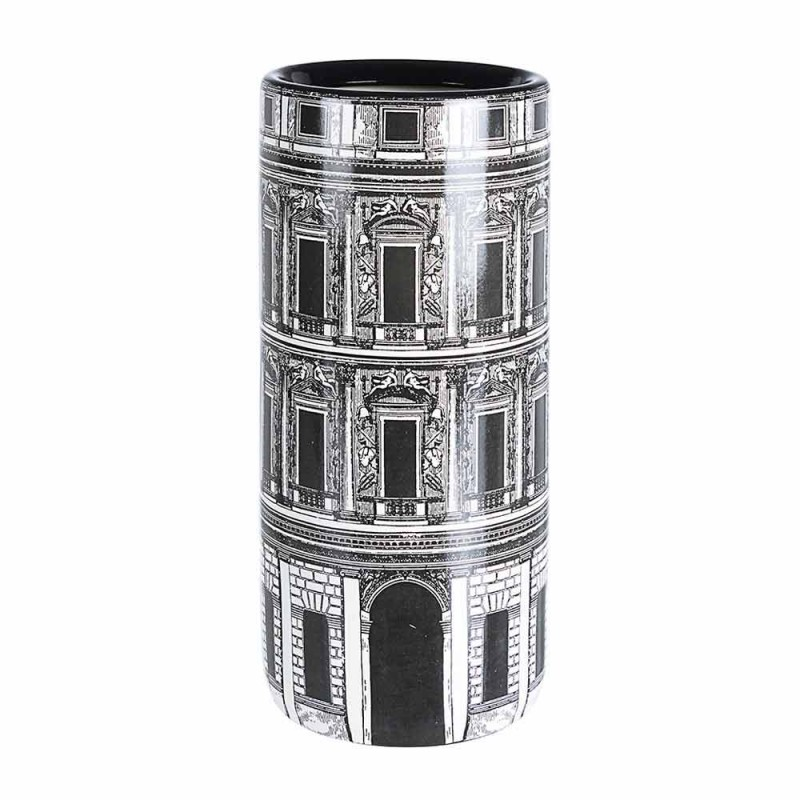Çift qëndrimi ombrellë prej porcelani me Homemotion Decal - Jumbo