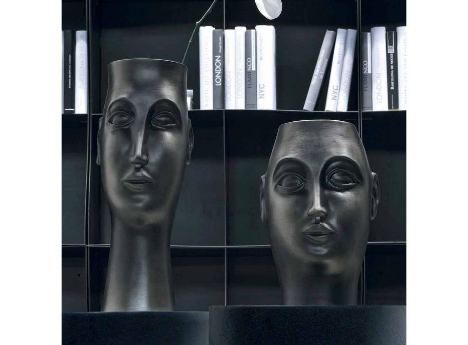 Çift Ornamentesh Qeramike në Fytyrë, Prodhuar në Itali - Vizazh
