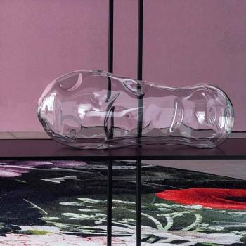 Çift vazo dekorative xhami në lulëzim, prodhuar në Itali - Pedro