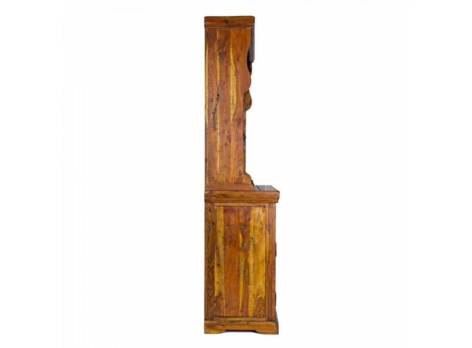 Dërrasë anësore me stil të lartë klasik me strukturë druri të ngurtë akacie - Umami