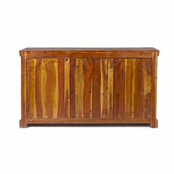 Dërrasë anësore klasike në dru të akacieve të forta dhe përfundime antike - Enia