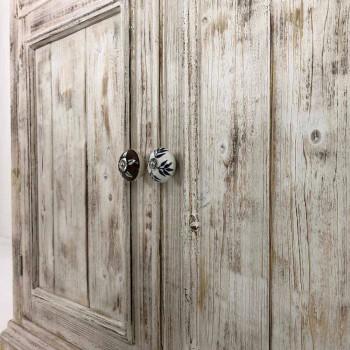 Dërrasa anësore e drurit të ngurtë me rafte të brendshme prodhuar në Itali - Pierrot