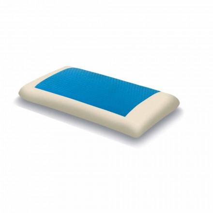 Memory ergonomik Hydrogel Cushion 13 cm i lartë Prodhuar në Itali 2 copë  Pretty