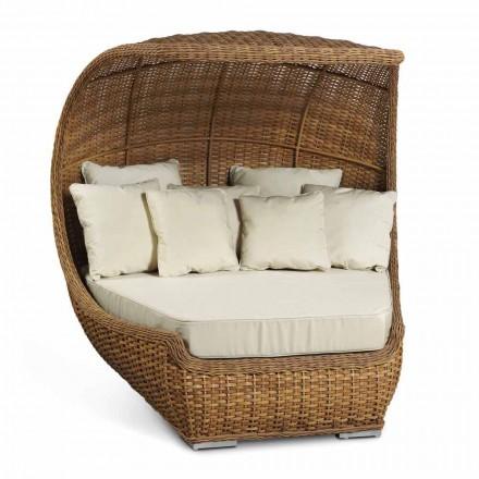 Dizenjoni shtratin e ditës në Bastun prej palme kacavjerrëse të endura luksoze - Yves