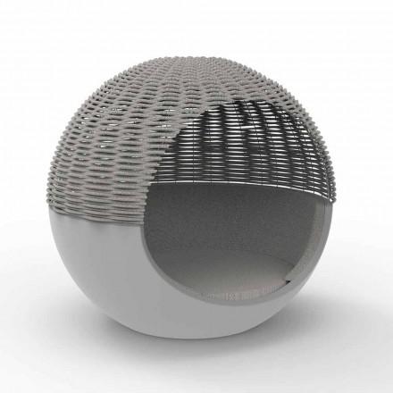 Dizajn i rrumbullakët me kopsht luksoz me litar të thurur - Ulm Moon nga Vondom