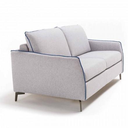 2 ulëse të mëdha divan Erica gjatësi 165 cm, të bëra në Itali dizajn modern