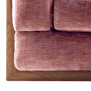 Divan i projektimit me tapiceri 3-vendësh Grilli York i bërë në Itali
