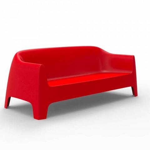 Divan në natyrë me dizajn modern Solid by Vondom në polipropilen