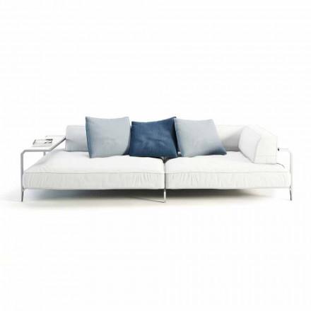 Sofa në natyrë me tapiceri në pëlhurën e modelimit modern të bërë në Itali - Arkansas