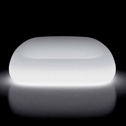 Divan i ndritshëm në natyrë me dritë LED në polietileni prodhuar në Itali - Ervin
