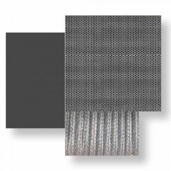 Divan Kopshti me dy Vende të Stackable në Alumin dhe Tekstil - Çelësi nga Talenti