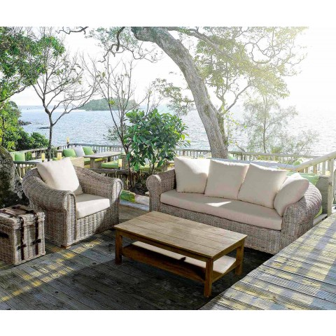Divane në natyrë / Shtëpi 3 vendesh në shtëpinë luksoze bastun prej palme kacavjerrëse - Francioso