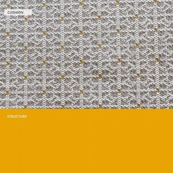 Divan Metal për Kopshtin, Dizajn Modern në Ngjyra të Ndryshme - Karol