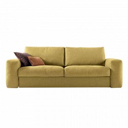 Dizajn modern 3 divan pëlhurë tapiceri Grilli George e bërë në Itali