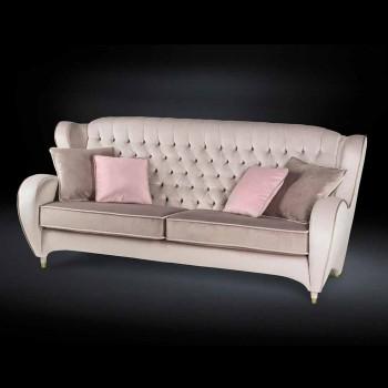 Sofja prej kadifeje punuar stil me tegela Schinke e re klasike