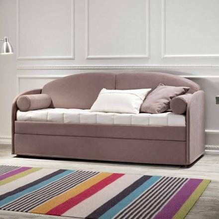 Krevat divani modern me marinari me pëlhurë kafe prodhuar në Itali - Pont