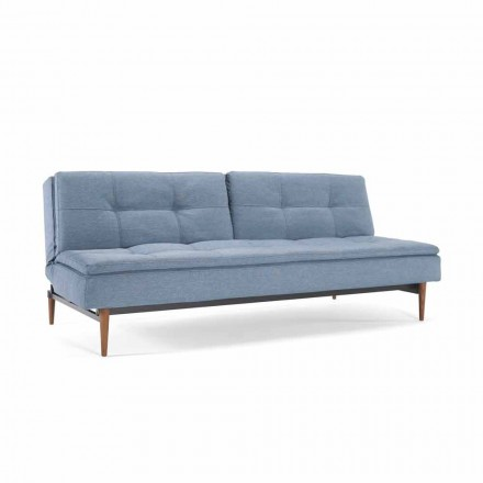 Shtrati blu divan i rregullueshëm në 3 pozicione Dublexo Innovation