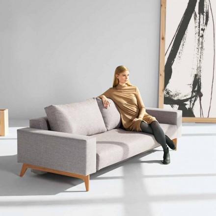 Dizajn modern skandinav shtrati divan gri Idun nga Innovation