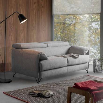 Dizenjoni shtratin e divanit në pëlhurën e heqshme të prodhuar në Itali Vittorio