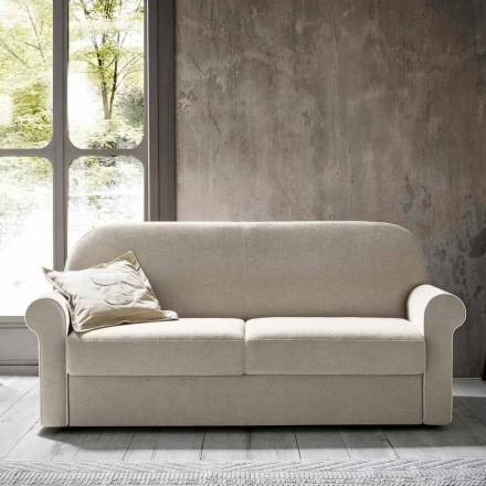 Krevat divani dyshe me pëlhurë dizajni prodhuar në Itali - Anemone
