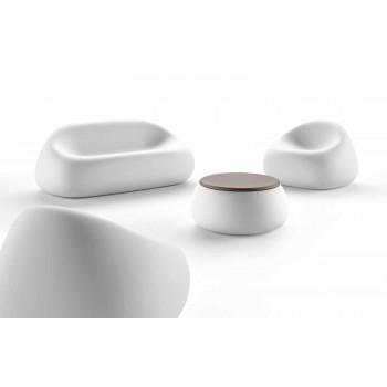 Divan i jashtëm modern i prodhuar në Itali Projektim polietileni - Ervin