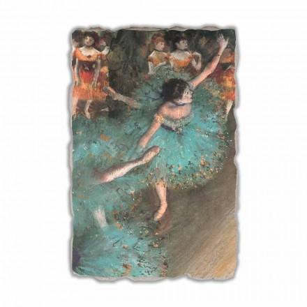 Valltarja e Gjelbër nga Edgar Degas, afresk i pikturuar me dorë