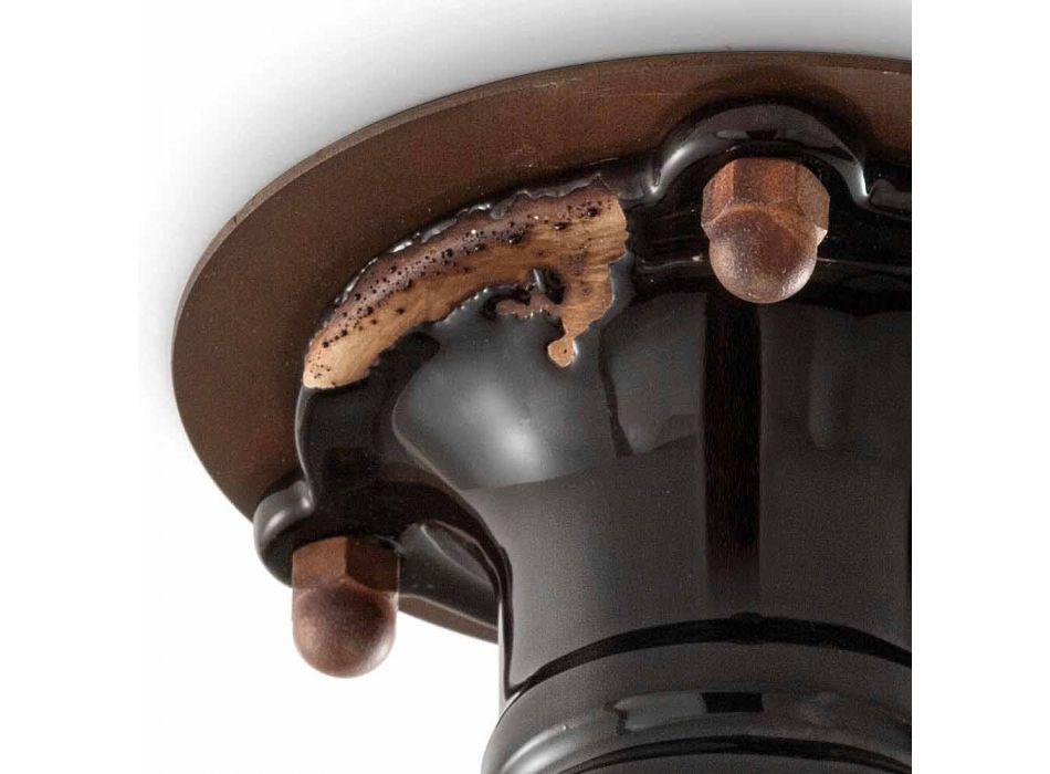 Dizajnimi i vëmendjes së tavanit retro qeramike dhe metalike Cloe Ferroluce