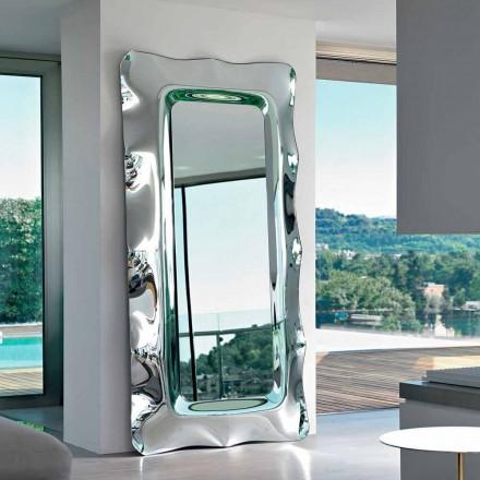Fiam Italia dysheme / mur i varur Dorian pasqyrë 202x105 cm, e bërë në Itali