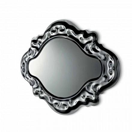Fiam Veblèn Pasqyrë muri me model modern Barok, prodhim në Itali