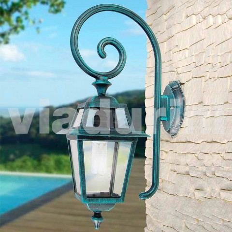 Kristel, një llambë muri kopsht alumini i bërë në Itali
