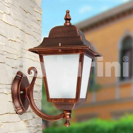 Llambë muri në natyrë e bërë me alumin, prodhuar në Itali, Aquilina