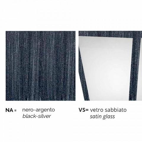 Llambë muri në natyrë prej alumini të prodhuar në Itali, Aquilina