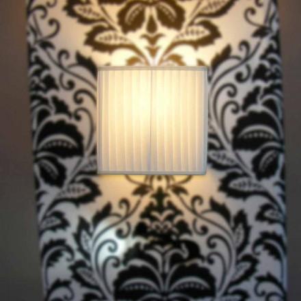 Llambë muri mëndafshi fildishi me dizajn modern Bamboo