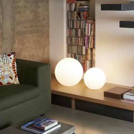 Llambë me dysheme / tavolinë moderne Slide Globo, prodhuar në Itali