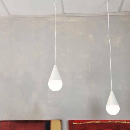 Dizajn modern 2-dritë llambë varëse varëse
