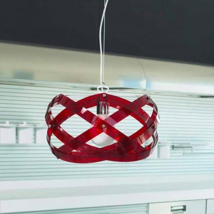 Llambë varëse varëse me dizajn modern Vanna bërë nga metakrilate, diam. 53 cm