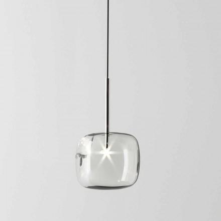 Llambë Pezullimi Dizajnimi në Metal dhe Qelq të Prodhuar në Itali - Donatina