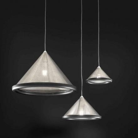 Llambë pezullimi në çelik inox dhe qeramikë - Tamiso Aldo Bernardi