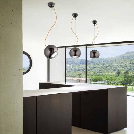 Dizajner dritë varëse qeramike Globo nga Aldo Bernardi