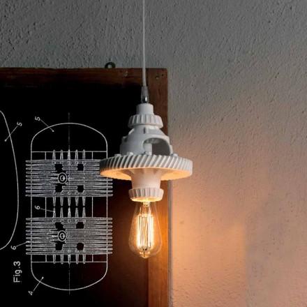 Llambë pezullimi në qeramikë në 3 përfundime të dizajnit modern - Futurism
