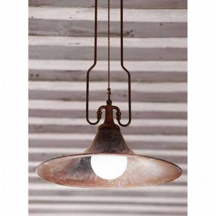 Dritë varëse moderne e bërë prej bronzi dhe bakri Mulino