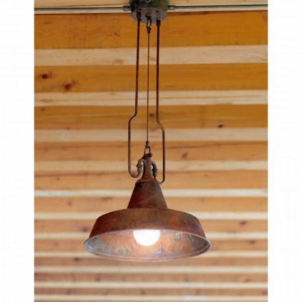 Dritë varëse bashkëkohore e bërë nga bakri dhe bronzi Fonderia
