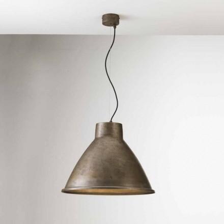 Dritë varëse prej hekuri me dizajn industrial Loft Big Il Fanale