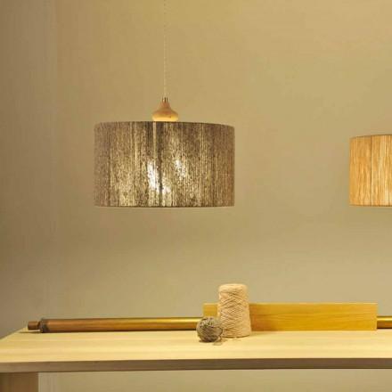 Dritë varëse me dizajn modern me element druri Bois