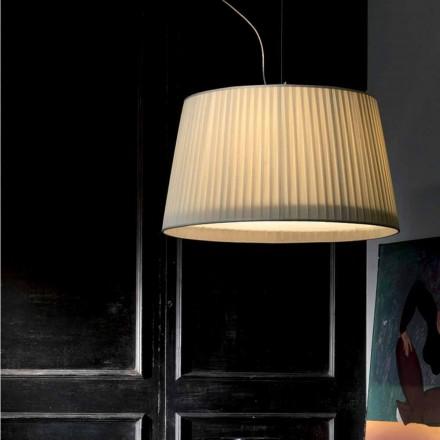 Llambë varëse prej mëndafshi fildishi me dizajn modern Bamboo