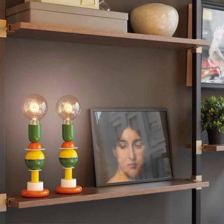 Projektoni llambë tavoline me shumë ngjyra në alumini Slide Otello Mini