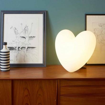 Llambë tryeze me ngjyra në formë zemre Slide Love, prodhuar në Itali