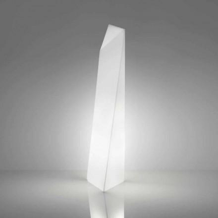 Llambë dysheme moderne në formë prizmi Slide Manhattan, prodhuar në Itali